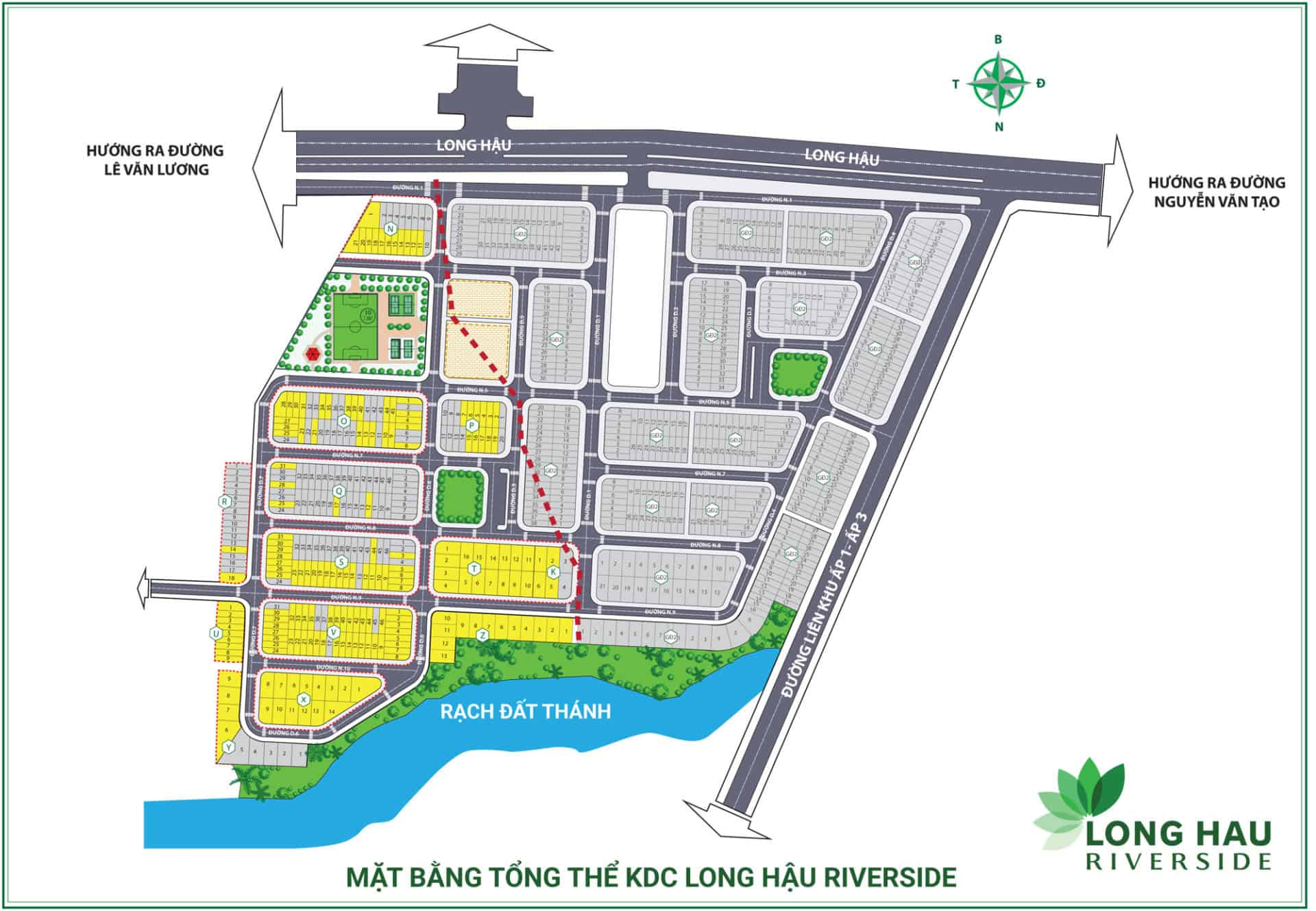 du an long hau riverside 14 - Dự án Long Hậu Riverside